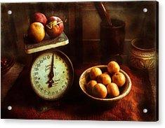 Apples To Oranges Acrylic Print