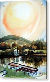 Approaching Dusk I Acrylic Print by Kip DeVore