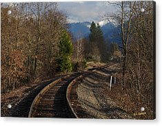 Approaching Grants Pass 1 Acrylic Print by Mick Anderson