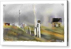 Approaching Storm Northwest Cape P.e.i Acrylic Print by Bob Salo