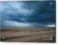 Approaching Storm - Outer Banks Acrylic Print by Dan Carmichael