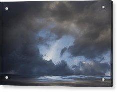 Approaching Storm Acrylic Print by Ron Jones
