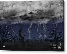 Approaching Storm Acrylic Print