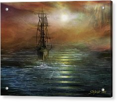 Approaching The New World Acrylic Print