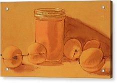 Apricot Preserves Acrylic Print