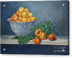 Apricots And Peaches Acrylic Print