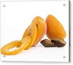 Apricots Acrylic Print by Bernard Jaubert