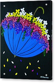 April Showers... Acrylic Print