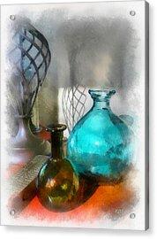 April Sun Acrylic Print by Rick Lloyd