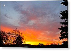 April Sunrise Acrylic Print