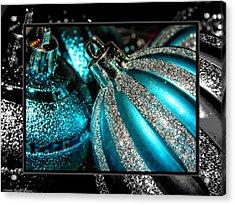 Aqua Baulbs Acrylic Print