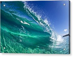 Aqua Blade Acrylic Print