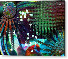 Aqua Dish Acrylic Print