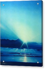 Ocean - ' Aqua Earth ' Acrylic Print