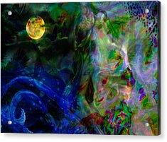 Aqua Lover Acrylic Print