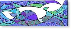 Aqua Seltzer Acrylic Print