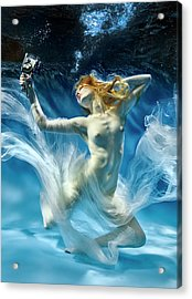 Aqua-theatre Acrylic Print by