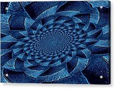 Aqua Tint Memories Acrylic Print by Chris Berry