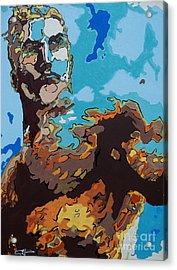 Aquaman - Reflections Acrylic Print by Kelly Hartman