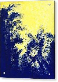 Aquamarine Blue Painting Acrylic Print