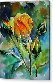 Aquarelle Acrylic Print by Elise Palmigiani