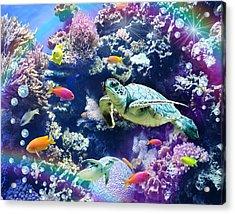 Aquarium Acrylic Print by Alixandra Mullins
