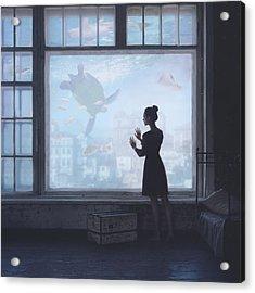 Aquatic Acrylic Print by Anka Zhuravleva