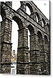 Aqueduct Of Segovia - Spain Acrylic Print