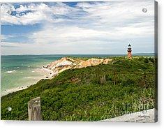 Aquinnah Gay Head Lighthouse Marthas Vineyard Massachusetts II Acrylic Print