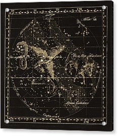 Aqulia Constellations, 1829 Acrylic Print by Science Photo Library