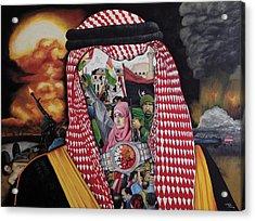 Arab Revolution Acrylic Print