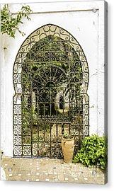 Arabian Door Acrylic Print