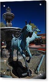 Arabian Horse Sculpture Acrylic Print