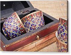 Arabian Teacups Acrylic Print