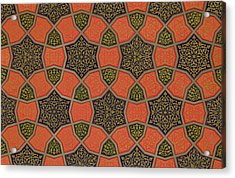 Arabic Decorative Design Acrylic Print by Emile Prisse dAvennes