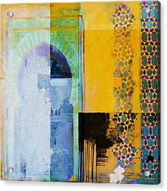Arabic Motifs 10b Acrylic Print by Corporate Art Task Force