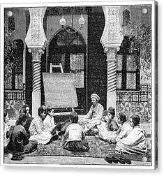 Arabic School In Algeria Acrylic Print