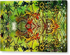Aracknid Harmony Acrylic Print