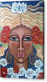 Aradne's Crown Acrylic Print by Maya Telford