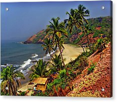 Arambol Beach India Acrylic Print