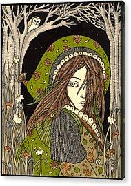 Aran Acrylic Print by Anita Inverarity