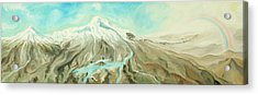 Ararat Acrylic Print by Sandra Yegiazaryan