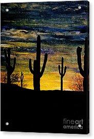 Arazona Sunset Acrylic Print