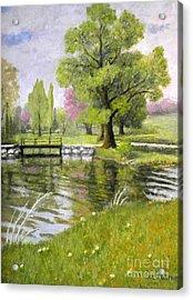 Arboretum 1 Acrylic Print