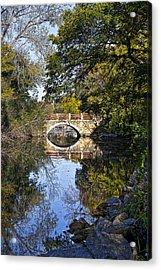 Arboretum Drive Bridge - Madison - Wisconsin Acrylic Print