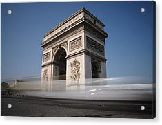 Acrylic Print featuring the photograph Arc De Triomphe by Jeremy Voisey