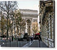 Arc De Triomphe Paris Acrylic Print by Lynn Bolt
