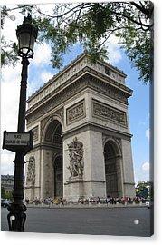 Arc De Triomphe Acrylic Print by Stephanie Hunter