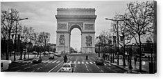 Arc De Triomphe Acrylic Print by Steven  Taylor