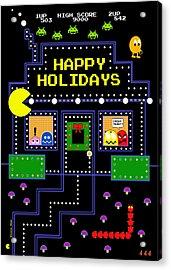 Arcade Holiday Acrylic Print